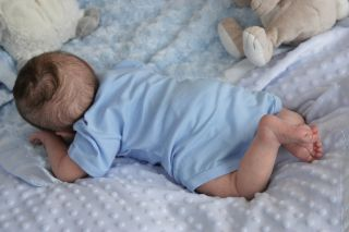 Reborn Baby Boy Doll Prototype Lillebror Sabine Altenkirch