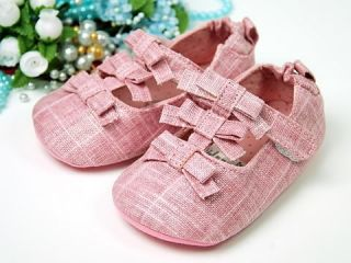 A68 New Toddler Baby Girl Pink Dress Shoes UK 2 3 4