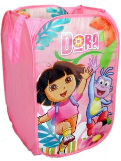 New Dora The Explorer Pop Up Toy Tidy Clothes Hamper