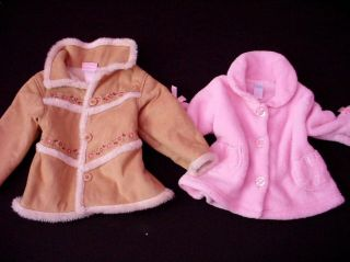 Baby Girl Tops Over Coat Sweater Jacket 12 18 Months Fall Winter Clothes Lot