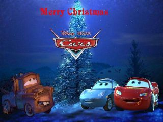 Disney Pixar Cars Lightning McQueen Candy Gift Set Ornament Toy Figure
