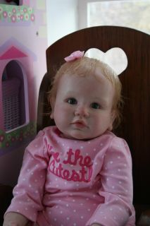 OOAK Reborn Toddler Baby Girl Doll Daimy Life Like