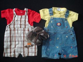 Baby Boy Infant Toddler Size 12 18 24 Months 2T Summer Fall Clothes Lot