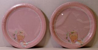 Precious Moments Girl Baby Shower 16 Dinner Dessert Plates Lunch Bev Napkins Cup