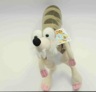 Ice Age The Meltdown Scrat Plush Toy