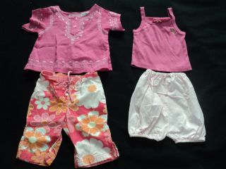 54 Pcs Used Baby Girl Newborn Infant Size 12 18 Months Spring Summer Clothes Lot
