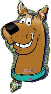 Party Decoration Scooby Doo Head Face Giant Supershape Foil Balloon