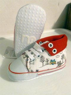 Infant Baby Boy Girl Shoe Sneaker Pooh Bunny and More Size 3 4 5 US