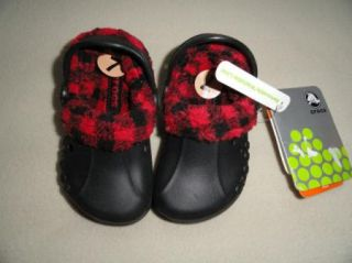 Crocs Baby Infant Toddler Blitzen Kids Mammoth Crocs Size 6 7