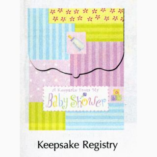 New Baby Keepsake Registry Boy Girl Baby Shower