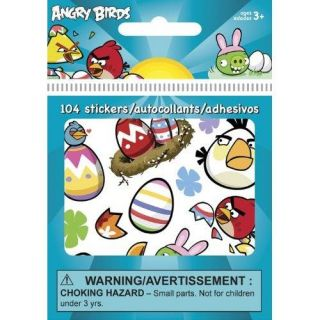 Angry Birds Seasons Easter Stickers Party Supplies 104ct