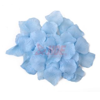 Fabric Rose Petals Silk Flower Wedding Decoration Party Multi Color Quantity
