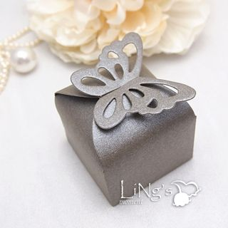 Butterfly Heart Favor Gift Candy Bonbonniere Boxes Wedding Party Baby Shower