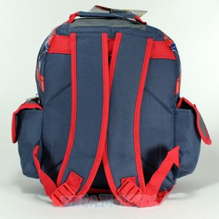 "12"" Marvel Spider Man Spiders Toddler Backpack Small Book Bag"