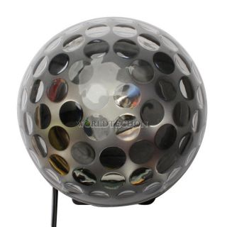 New 120 Degree Crystal Magic Ball LED Party Light Black Weding Fantastic