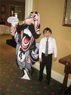 Life Size Cut Out or Party Table Display 1' 6' Your Picture Greeter