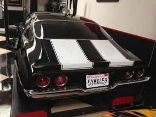 71 Chevrolet Camaro Automatic Coupe Car 8 Cylinder Leather Black