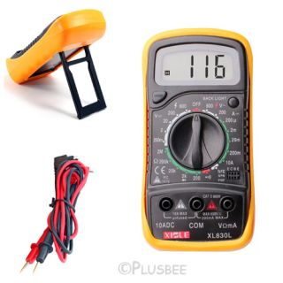 Digital Multimeter Voltmeter Electrical Hand Held Tester Ammeter AC DC Meter Ohm