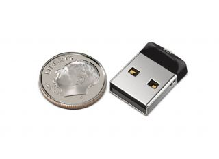 SanDisk Cruzer Fit 32GB Mini Nano USB Flash Pen Drive