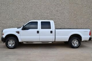 2008 Ford Super Duty F 250 Crew Cab XL 4x4 Power Stroke Diesel 1 Owner Carfax