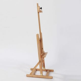 "45 7"" Artist Easel Wood Tripod Table Top Easel Display Drawing Sketching Paint"