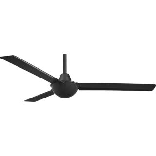 "Minka Aire F833 BK Kewl Black 52"" Ceiling Fan with Wall Control"