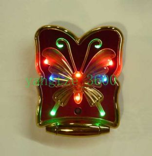 Butterfly Fashion Design K198 Quad Band Dual Sim Unlocked Cell Phone  MP4 Red