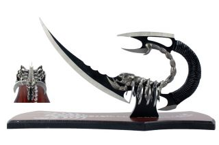 Fantasy Scorpion Dagger Knife with Stand Brand New