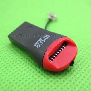 New USB Adapter Flash TF Micro SD Memory Card Reader USB 2 0 Mini