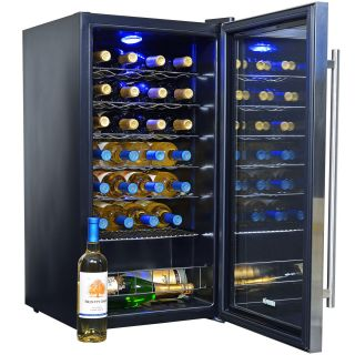 New Newair 27 Bottle Wine Cooler Cellar Refrigerator Fridge Chiller A WC 270E