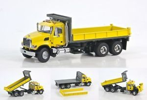 Mack Granite Flatbed Truck Yellow Sword Scale Model
