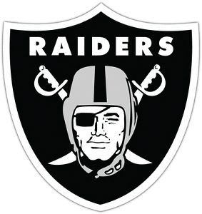 "Oakland Raiders NFL Football Car Bumper Notebook Window Sticker Decal 4""X5"""