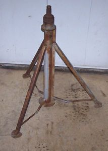Vintage Steampunk Industrial Machine Age Tripod Folding Legs Table Base Part
