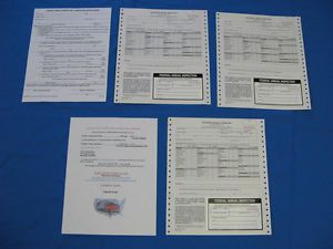Fhwa Federal Inspection Semi Truck Trailer Dot Inspection Forms Decals Stickers