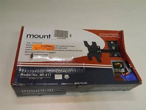 Mount It MI411 TV Wall Mount Bracket Full Motion Swing Out Tilt Swivel 17922