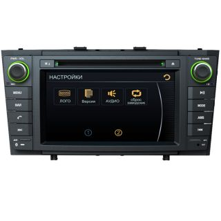 "7"" Car GPS Navigation Radio Bluetooth DVD CDC Player for 2009 12 Toyota Avensis"