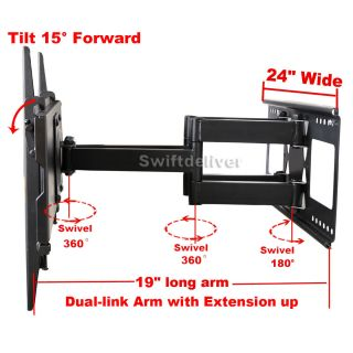Full Motion LCD LED Plasma TV Wall Mount 32 37 40 42 46 47 50 52 55 58 60 65 CYF