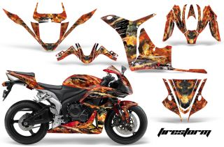 AMR Racing Sticker Graphics Kit Part CBR600RR CBR 07 08
