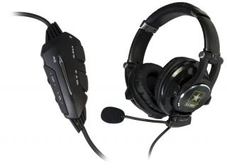 U s Army Universal Gaming Headset with 3D Effect for PS3 Xbox 360 PC