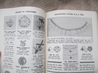 Masonic 1960 Catalog Gifts and Supplies for Lodges Cleveland Ohio