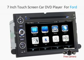 Car DVD GPS F Ford Fusion Expedition Mustang Escape Explorer Edge Focus Camera