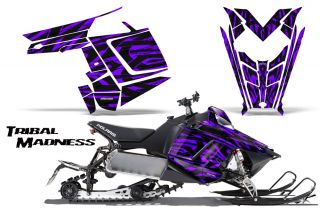 Polaris Rush Pro RMK 600 800 Sled Snowmobile Graphics Kit Creatorx Wrap TMPR