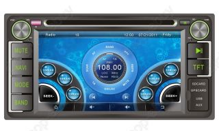 "6 2"" Car DVD Player GPS Navigation for Toyota Camry 2002 2006 Free 3D GPS Map"