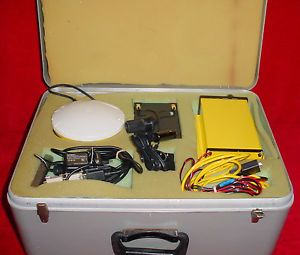 Trimble GPS Beacon Receiver w Antenna Case AG GPS 122 Integrated GPS 29654 53