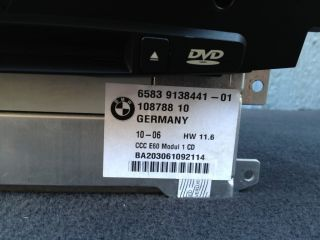 BMW E60 E61 Navigation DVD Player CD Radio Receiver GPS Navi CCC Hi Fi Am FM