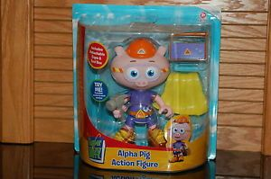 New Super Why Alpha Pig Action Figure PBS Kids Toy by Learning Curve