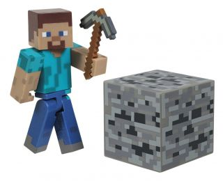 Minecraft Core Steve Action Figure New Toys Kids Video Game Gift Main Character