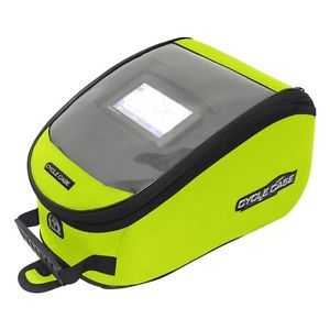Cycle Case H Viz Rider GPS Magnetic Base Tank Bag Motorcycle Sportbike Street