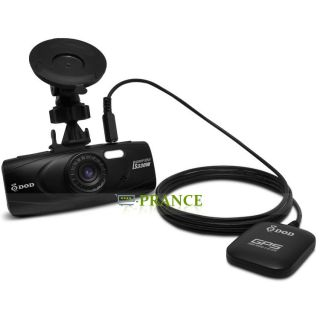 Car DVR Camera DOD LS330W with Super Night Vision 1080p 30fps A8 CPU GPS