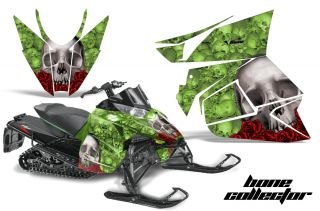 AMR Racing Graphics Kit Arctic Cat Sno Pro Proclimber Snowmobile Sled 2012 Bone